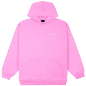 Dime Classic Small Logo Hoodie - Light Pink