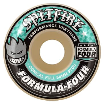 Spitfire Formula Four Wheels Conical Full 97a Natural 56mm