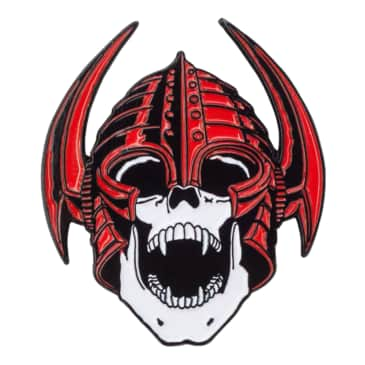 Powell Peralta Welinder Lapel Pin Red