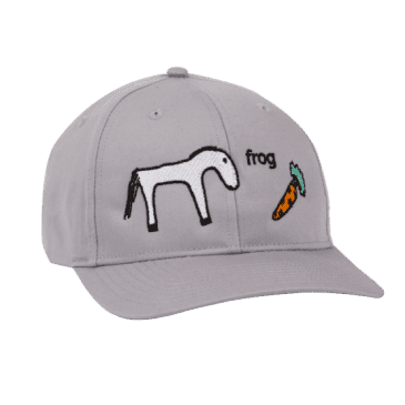 Frog Skateboards Horse Hat - Silver