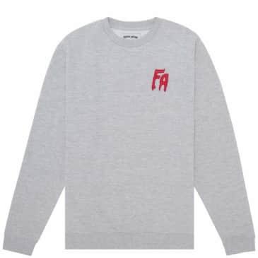 Fucking Awesome FA Embroidered Sweatshirt - Grey
