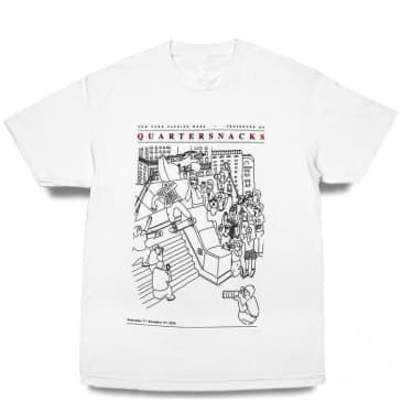 Quartersnacks Presented By... T-Shirt - White