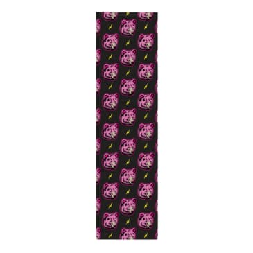 """Grizzly High Voltage Griptape Pink 9"""" x 33"""""""