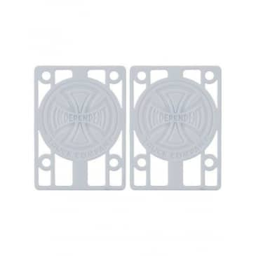 Independent Genuine Parts Risers White (1/8)
