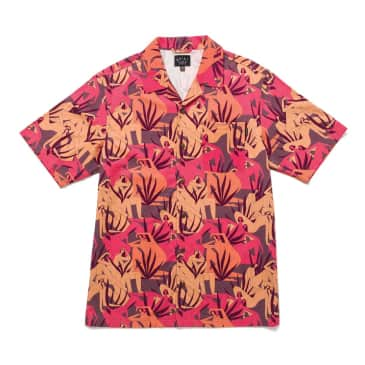 """THE QUIET LIFE- """"BERGER CAMP COLLAR BUTTON DOWN"""" (MULTI)"""