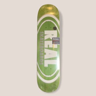 """Real Oval Team Pearl Patterns 7.75"""" Deck"""