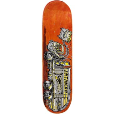 Anti Hero Grant Taylor Curbside Service Skateboard Deck - 8.25 (Various Colour Stains)