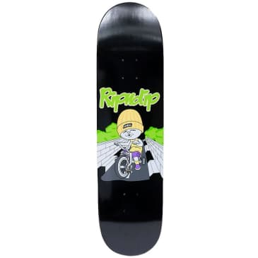 Ripndip Must Be Ridin Skateboard Deck | Black | 8.00""