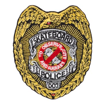 """Powell Peralta Skateboard Police Patch 3.5"""""""