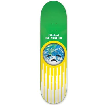 Habitat Skateboards Global Bummer Skateboard Deck - 8.25