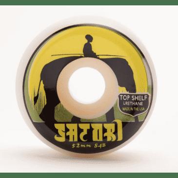 Satori Wheels - Satori Elephant Top Shelf Urethane 84b Wheels 52mm