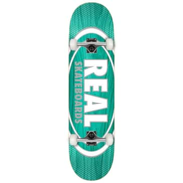 """Real - Team Oval Pearl - Complete Skateboard - 8.25"""""""