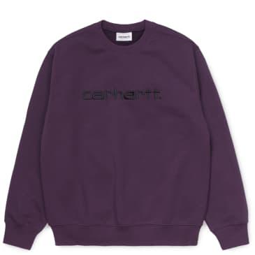 Carhartt WIP Sweatshirt - Boysenberry