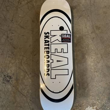 Real - Classic Oval Skateboard Deck - 8.38