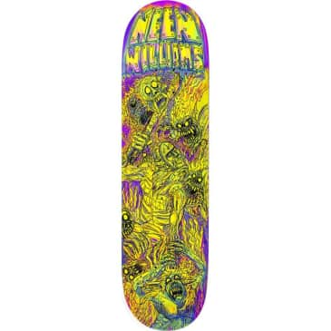 Deathwish Skateboards Neen Williams Dystopia Skateboard Deck - 8.00