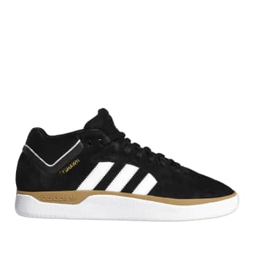 adidas Skateboarding Tyshawn Shoes - Core Black / Ftwr White / Gum 4