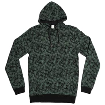Canna All Over Print Pullover Hoody