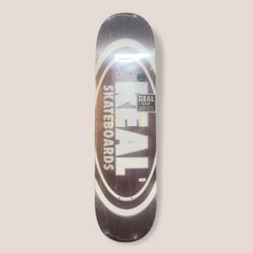 """Real Oval Team Pearl Patterns 8.25"""" Deck"""