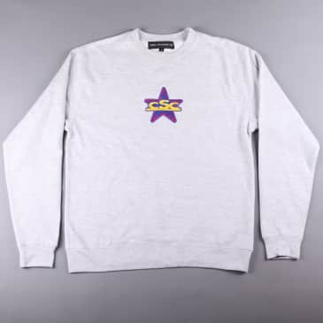 CSC MNCSC Embroidered Crew -Heather Grey