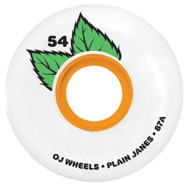 OJ - 54mm (87a) Plain Jane Keyframe Skateboard Wheels