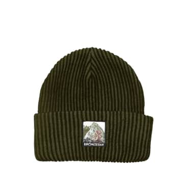 Bronze 56k Mountain Beanie - Olive