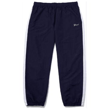 Grand Collection Nylon Pant - Midnight Navy / White