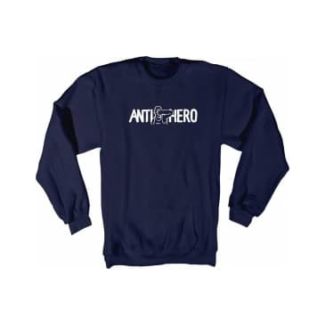 Anti Hero Punch Hero Crew Navy