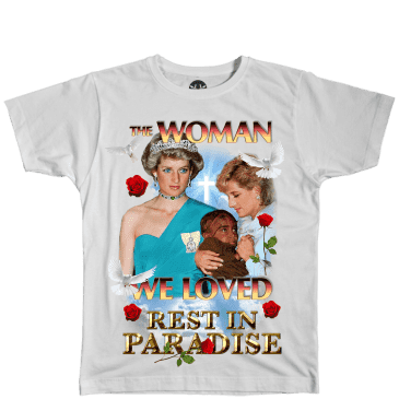 Paradise.NYC The Woman We Loved T-Shirt - White
