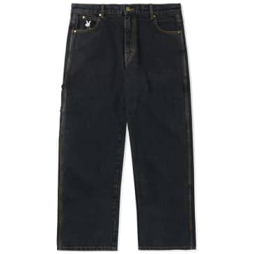 Butter Goods Gullwing Denim Pant - Washed Black