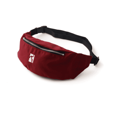 Poetic Collective Belt Bag Maroon