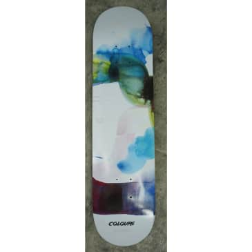 """Colours Deck One Off Will Barras Paul Hart Water Colours 8.2"""""""
