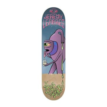 """Toy Machine Leabres Face Off 8.38"""" Deck"""