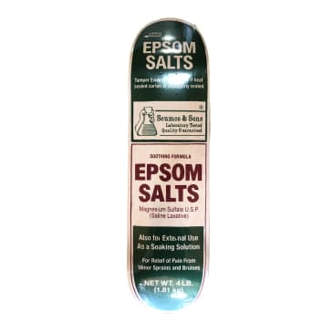 Scumco and Sons Epsom Salts Deck 8.375""