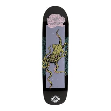 Welcome- Bactocat on Son of Planchette- BLACK/Lavender Deck 8.38""