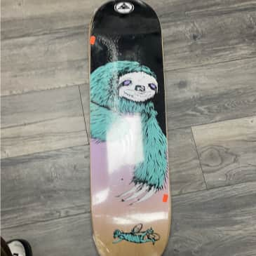 Welcome Skateboards Sloth On Son Of Planchette 8.38