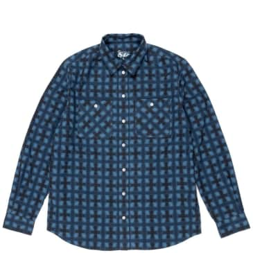 Dancer Flannel Shirt - Blue