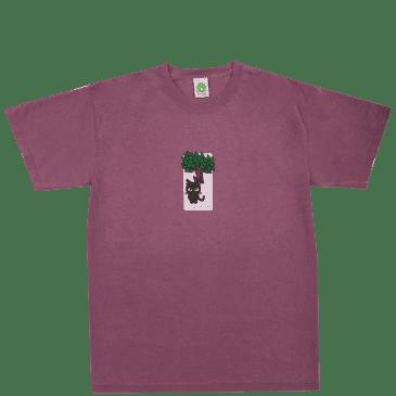 Frog Jesse Alba Spider Monkey Muffin T-Shirt - Berry
