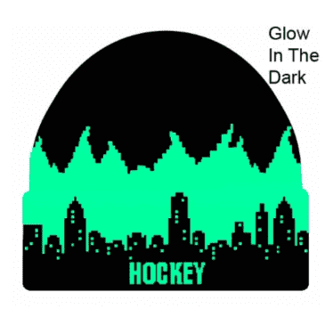 Lights Out Beanie (Black/Glow in the Dark)