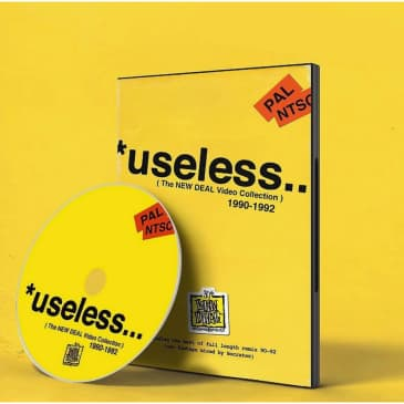 """New Deal """"Useless"""" The Video Collection DVD - 1990 to 1992"""