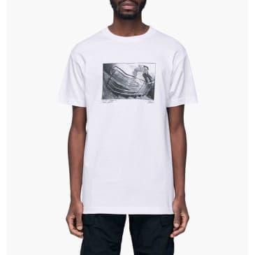 Traffic Skateboards x Nocturnal Oyola T-Shirt - White