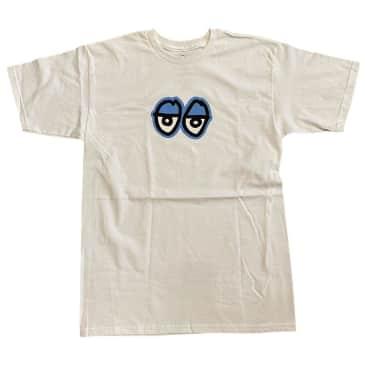 Krooked Tee Eyes White Blue