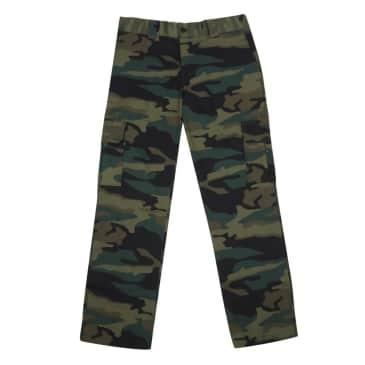595 Cargo Pants - Hunter Green Camo