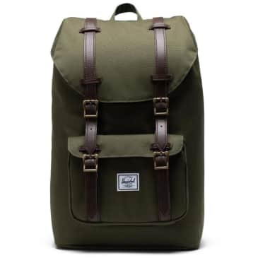 Herschel Little America Backpack Mid-Volume - Ivy Green / Chicory Coffee