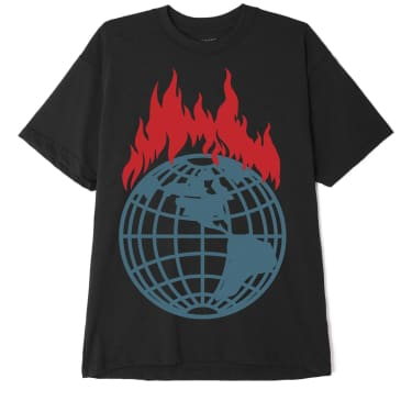DON'T JUST WATCH IT BURN SUSTAINABLE T-SHIRT