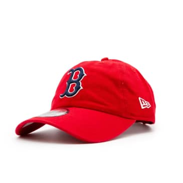New Era Boston Red Sox Washed Casual Classic Cap - Red