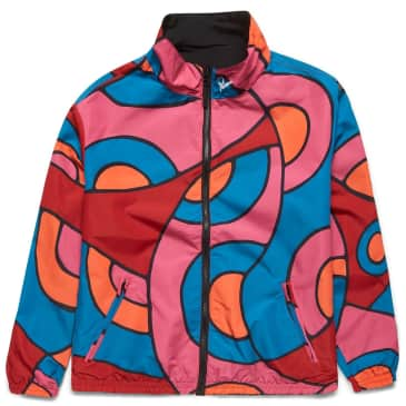 by Parra Serpent Pattern Track Top - Multi