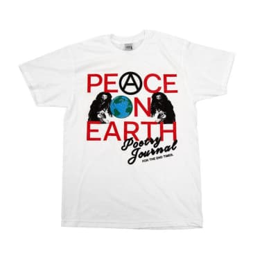UDLI Editions - Peace On Earth 01 Tee - White