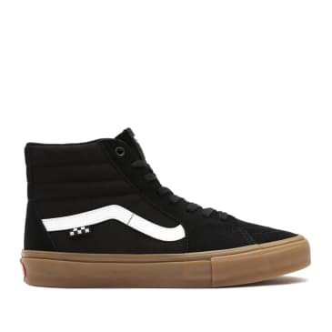 Vans Skate Sk8-Hi Shoes - Black / Gum