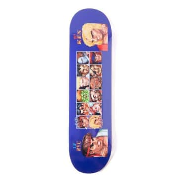 """HUF X STREETFIGHTER Players Select Skateboard Deck 8.25"""""""