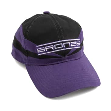 Bronze 56k Sports Snapback Hat - Black / Purple